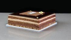 Tarta de Chocolate y Crujiente de Feuilletine / Chocolate and Crunchy F... Chocolate Ganache, Pastry School, Biscuit Cake, Cake Youtube, Fancy Desserts, Mini Cakes, Fondant, Deserts, Decorative Boxes