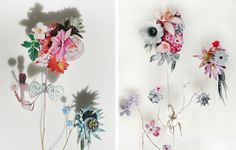 short story design: Flower Constructions. I like this concept.