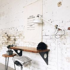 Vintage Industrial Furniture, Rustic Industrial, Rustic Wood, Wood Furniture, Industrial Closet, Industrial Bookshelf, Industrial Apartment, Industrial Bedroom, Industrial Office