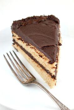Life's a feast: VANILLA BEAN CINNAMON SPONGE BIRTHDAY CAKE