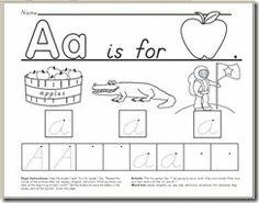 worksheets for 2 year olds free letter a worksheet download school pinterest worksheets. Black Bedroom Furniture Sets. Home Design Ideas
