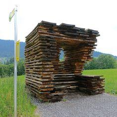 bus stop Unterkrumbach Nord by Ensamble Studio 2014