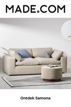 Outdoor Sofa, Outdoor Furniture, Outdoor Decor, 5 Seater Sofa, Sofa Styling, Sofa Shop, Dark Beige, Cotton Linen, Couch