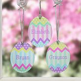 Personalized Easter Egg Suncatchers - Easter Reflections - 14145