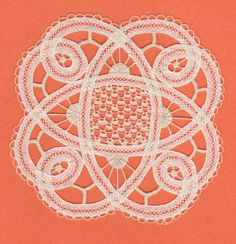 luxeuil lace (similar to Battenberg lace)