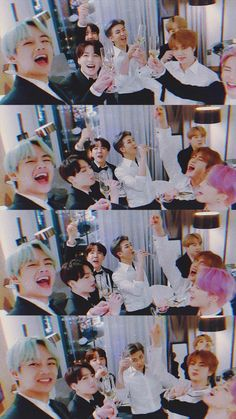 The way jimin drank that champagne Vlive Bts, Bts Taehyung, Bts Bangtan Boy, Jimin Jungkook, Foto Bts, Kpop, Bts Group Photos, V Bts Wallpaper, Bts Group Photo Wallpaper