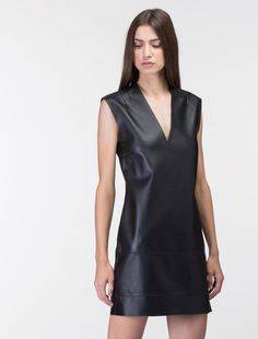 LEATHER PENCIL DRESS, Costume National