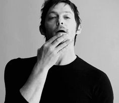 Norman Reedus in motion