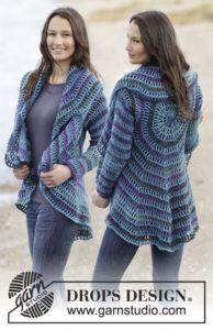Crochet Circular Jacket Pattern Free