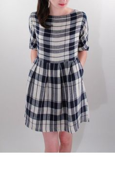 Plaid dress by ace & jig