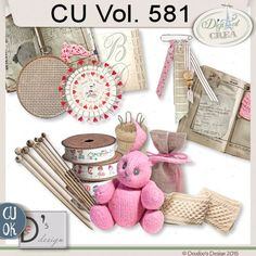 CU Vol. 581 by Doudou's Design  This set contents 12 elements created and/or photographed and/or extracted by myself.  Shadows only on preview