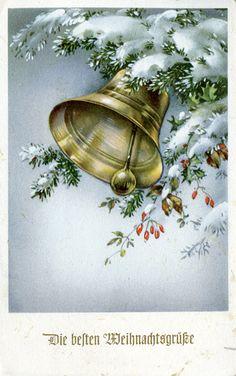 Vintage Christmas bell.........................lb xxx