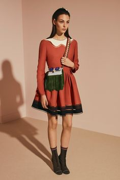 #Fendi  #fashion  #Koshchenets    Fendi Pre-Fall 2017 Collection Photos - Vogue