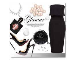 """Untitled #979"" by samha ❤ liked on Polyvore featuring Christian Louboutin, Chanel and Yves Saint Laurent"