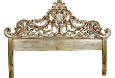 Fabulous Rococo style headboard.