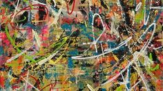 Mists of Anonymity Lorette Luzajic (2013) Mixed Media 30in × 30in #Toronto #art