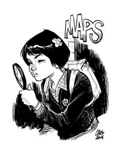 insidegothamacademy:      Maps by Cameron Stewart      Did everyone see this?!? Cameron Stewart, ladies and gentlemen!! <3 *freaks out*