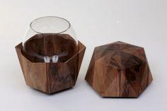 wooden urn designed by frederic dedelley