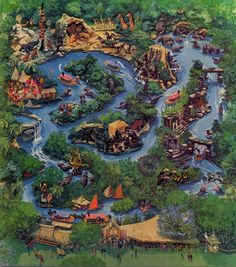 Jungle Cruise Original Artwork