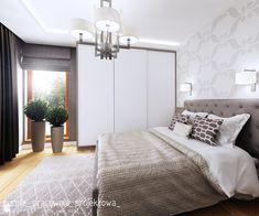 Sypialnia styl Glamour - zdjęcie od PURPLE PRACOWNIA - Sypialnia - Styl Glamour - PURPLE PRACOWNIA