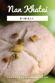 Süssigkeiten für Diwali - Nan Khatai - Cakes, Cookies and Diwali, Nan Khatai, Biscuits, International Recipes, Cookie Recipes, Good Food, Sweets, Cookies, Easy Peasy