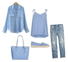 """""""Untitled #37"""" by sabiahnk on Polyvore featuring River Island, Madewell, Yves Saint Laurent and Kate Spade"""