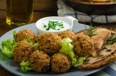Israeli Falafel Recipe. About Israel's signature food--plus, a recipe. Israeli Cooking, Israeli Recipes