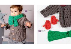 Catalogue layette premier trousseau - Catalogues tricot layette - Phildar