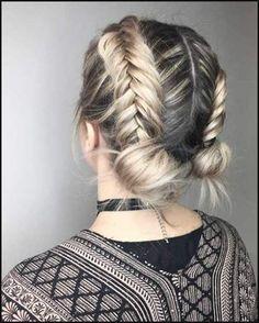 Muss Versuchen, Geflochtene Kurze Frisur-Anleitung für Mädchen ...   Einfache Frisuren