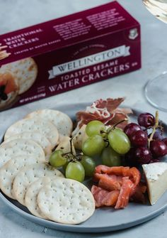 Wellington Crackers, Cheese palter, Cheese plate, snacks, cheese and crackers