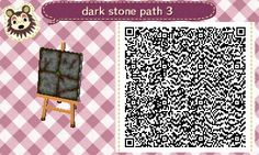 Dark stone path!
