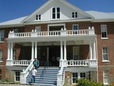 Investigate Haunted Virginia City, Nevada - St. Mary's Art Center  This was originally St. Mary Louise Hospital that was built in 1876 by the Sisters of Charity and Bishop Patrick Manogue.