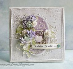 Dorota_mk: wedding with a hint of mint and violet