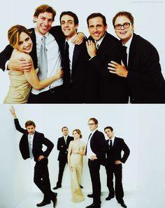 Jenna Fischer, John Krasinski, B.J. Novak, Steve Carell & Rainn Wilson