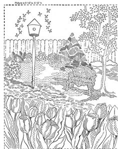 Hundreds of vintage embroidery patterns at this site