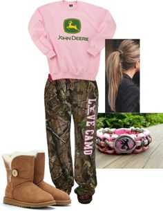 """Lazy Days"" by camo-ammo-queen ❤ liked on Polyvore"