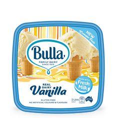 Bulla Real Dairy Vanilla 2L Fresh Milk, Fresh Cream, Ice Cream, Flavored Milk, No Dairy Recipes, Powdered Milk, Food Safety, Food Industry, Frozen Yogurt