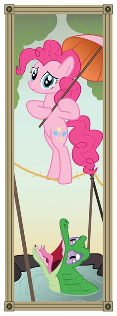 Stretching Portrait - Pinkie by =Icaron on deviantART