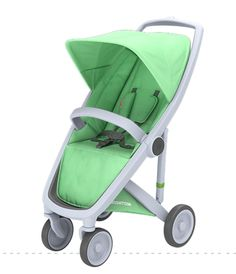 Greentom Upp Classic - grey chassis, green fabric
