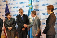 """En su intervención Brownfield destacó que la CICIG ha tenido más impacto en combatir la impunidad y corrupción que cualquier otra institución nacional e internacional. """"La CICIG sirve como ejemplo … Quetzaltenango"""