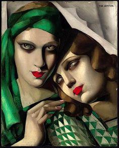 """el turbante verde "" Tamara Lempicka"