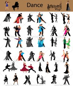 Dance vector — Vector EPS #background #black • Available here → https://graphicriver.net/item/dance-vector/2882832?ref=pxcr