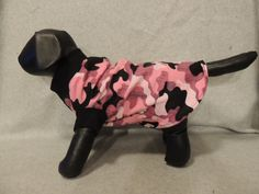 Small Dog T-Shirt Pink Camo by favorite4paws on Etsy