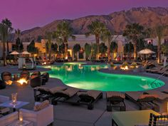 The best hotels in Palm Springs, California: Riviera Hotel & Spa #TravelTuesday #Travel