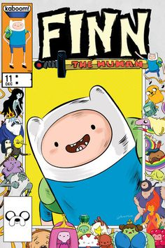 Adventure Time Comics Issue 11 Limited Collector's Edition Variant by JJ Harrison for Boom Studios  Finn the Human is the first in a a series of 5 exclusive covers I did for Adventure Time comics! The layout is a throwback to the old Marvel anniversary covers of the 80s. These issues are limited to 500 copies. I think it comes out in a week or so, but it looks like the shop with the exclusive, Brett's Comics, is already selling pre-orders on eBay. Watch out for the reveal of the next