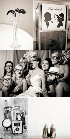Rent a photo booth.Your guests get a copy as party favors and you keep a copy for your album.