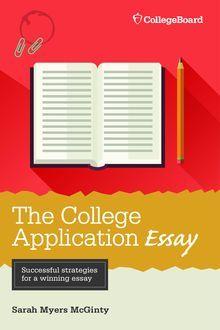 Writing a successful college application essay george ehrenhaft