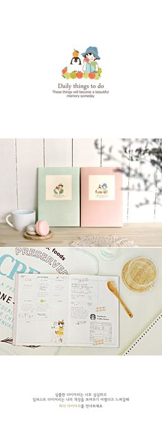 Agenda Pony Brown Heeda - Daily things to do - Mint Detalle 0