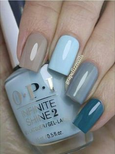 Best Nail Art Ideas - Fashiotopia - Nails 5 practical ways to apply nail polish without errors Es ist fast eine P Winter Nails, Spring Nails, Summer Nails, Spring Nail Art, Essie, Nailed It, Opi Nails, Nail Nail, Gel Manicure