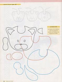 BIBS: Cat, Bear, Dog templates